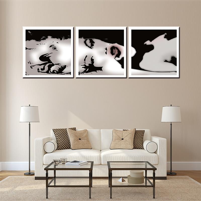 3 предмета в комплекте об известных кинозвезда США Norma Jean Remix холст картины для гостиной стены искусства фотографии картина маслом для паб