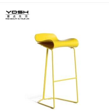 High-grade tall foot chair., wrought iron bar chair.. europe type restoring ancient ways wrought iron bar chair lift chair the foot stool