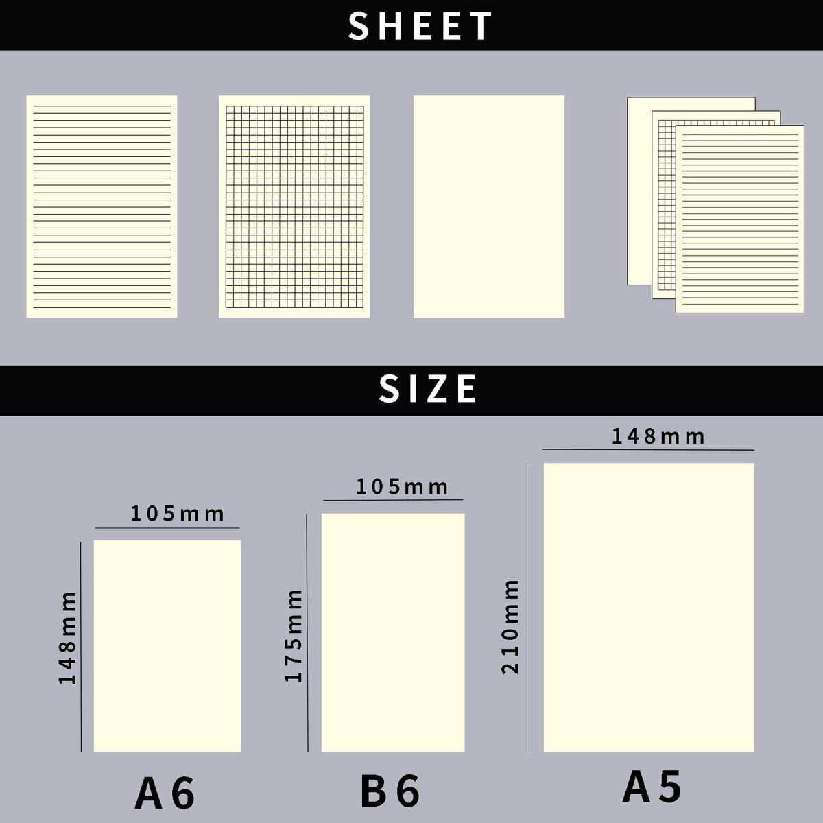 Brand New Planner Sätt in dagbokspåfyllnad för A5 A6 Storlek - Block och anteckningsböcker - Foto 2