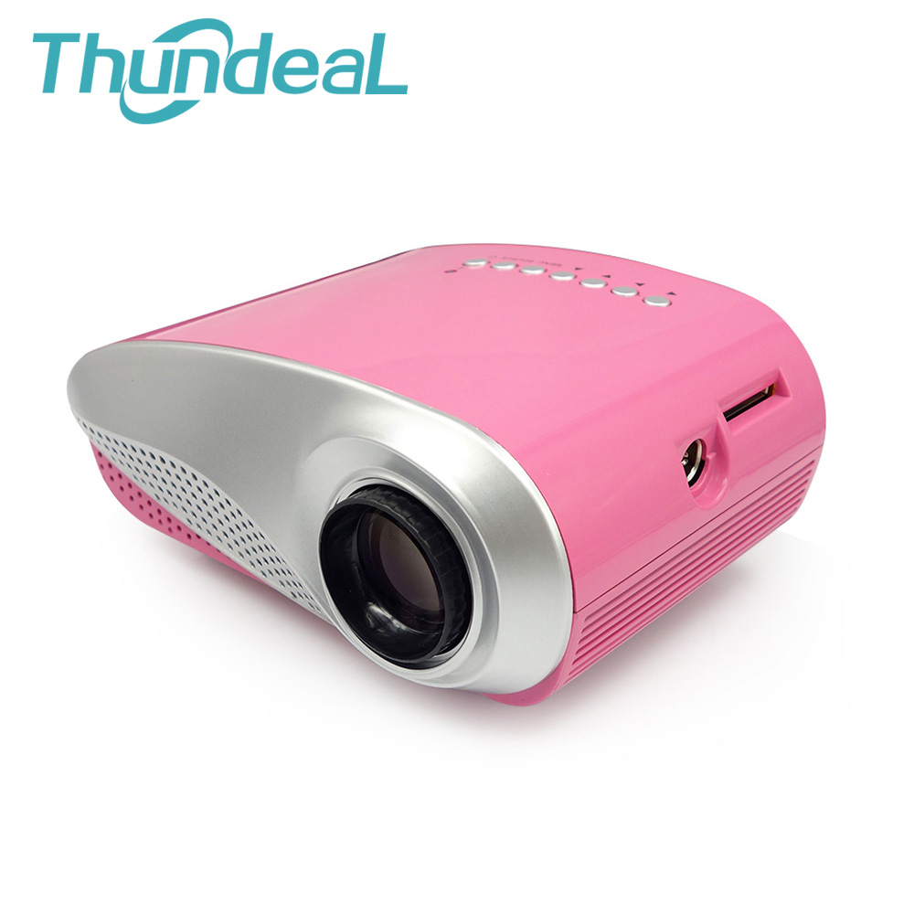 Free 3D Glasses 200lumens 3D Beamer LED Portable Video Pico RD802 Mini Projector Proyector Home Cinema