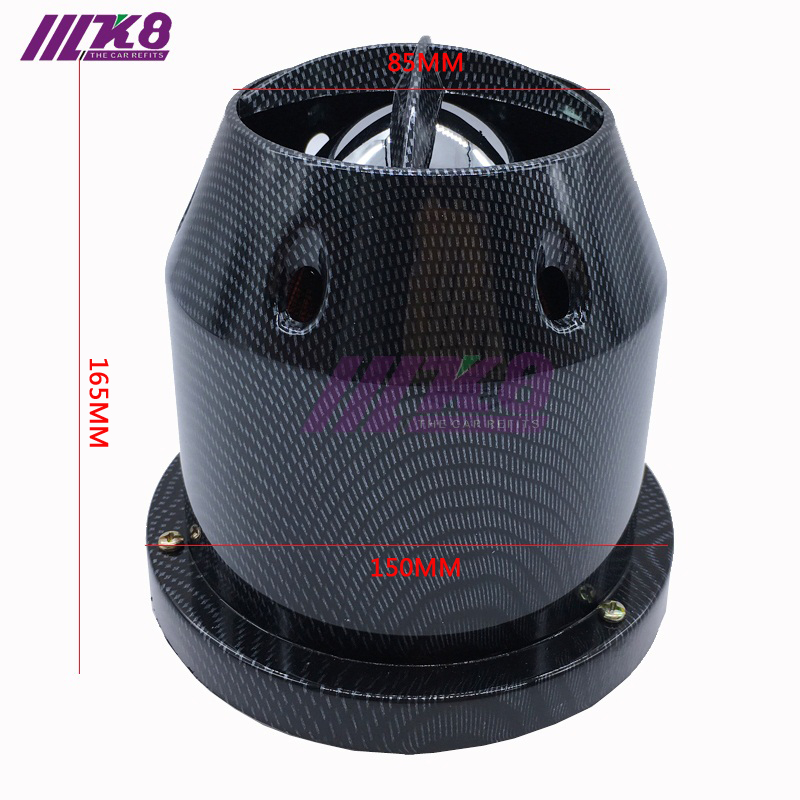 Universal Car Truck Air Filter Cold Air Intake Filter Cleaner 76mm K8-8005