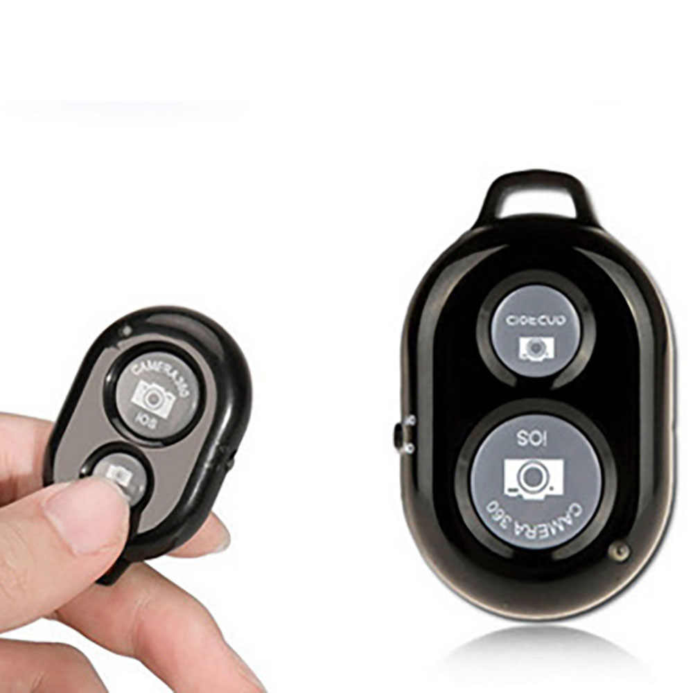 Powstro Nirkabel Bluetooth Smart Ponsel Kamera Remote Control Rana untuk Selfie Stick Monopod Android Yang Kompatibel untuk iPhone