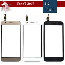 10pcs/lot 5.0 For Huawei Y3 2017 CRO-U00 CRO-L02 CRO-L22 Touch Screen Digitizer Sensor Outer Glass Lens Panel Replacement ремни narvin 340544 cro tobacco