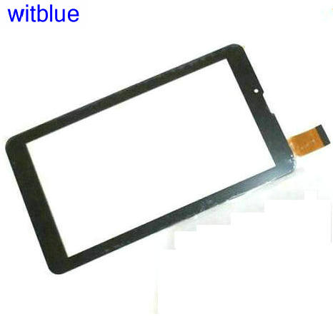 Tempered Glass Protector / New Touch screen Panel Digitizer For 7 RoverPad Sky Glory S7 3G Tablet Glass Sensor Replacement witblue new touch screen for 9 7 archos 97 carbon tablet touch panel digitizer glass sensor replacement free shipping