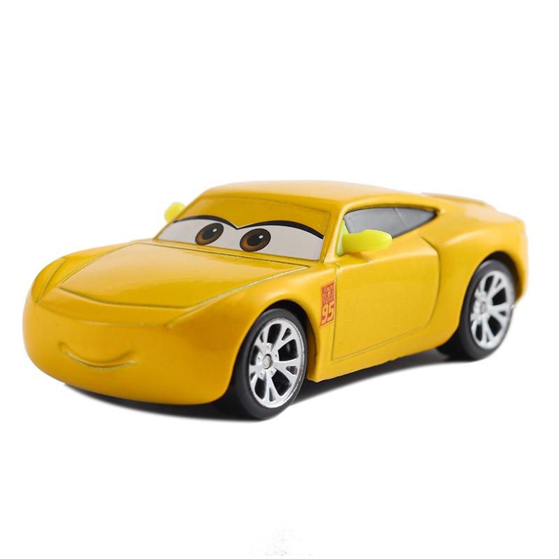 Disney Pixar машина 3 Молния Маккуин гоночный семейный 39 Джексон шторм Рамирез 1:55 литой металлический сплав детская Игрушечная машина - Цвет: 19