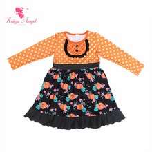 88d12d23e5fd8 Buy flower girl dress kids orange and get free shipping on ...