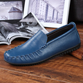 Leather Shoes 2016 New Fashion British Casual Soft Dough Lazy Shoes Breathable Brands Leather Shoes