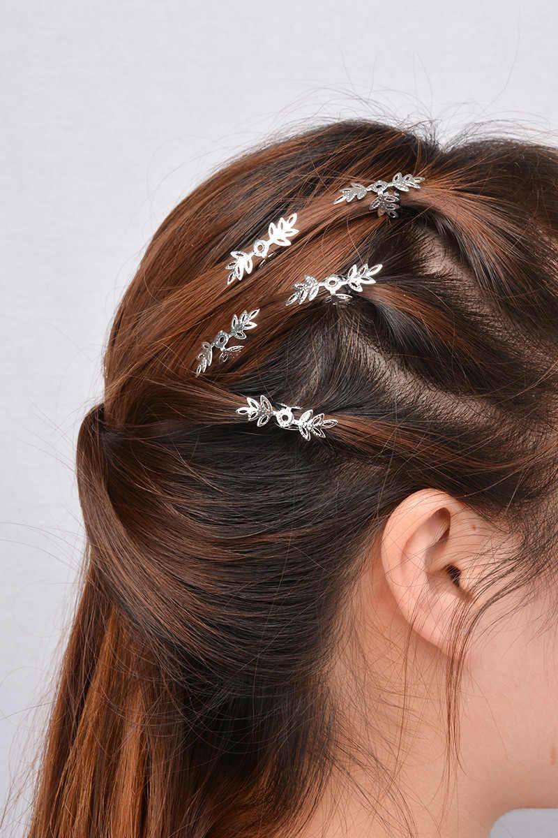 Mode Haaraccessoires Metalen Shell Ster Haar Clips voor Vrouwen Punk Haarspeld Charm Sieraden Haar Scrunchies Meisjes Haar Decoratie