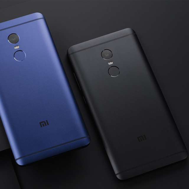 Original Xiaomi Redmi Note 4 3GB RAM 64GB ROM Mobile Phone MTK Helio X20 Deca Core 5.5″ 1920×1080 4100mAh MIUI 8 Fingerprint ID