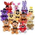 25cm Five Nights At Freddy's toy FNAF Freddy Fazbear Mangle Foxy chica bonnie Plush Toys stuffed Doll 10'' in stock