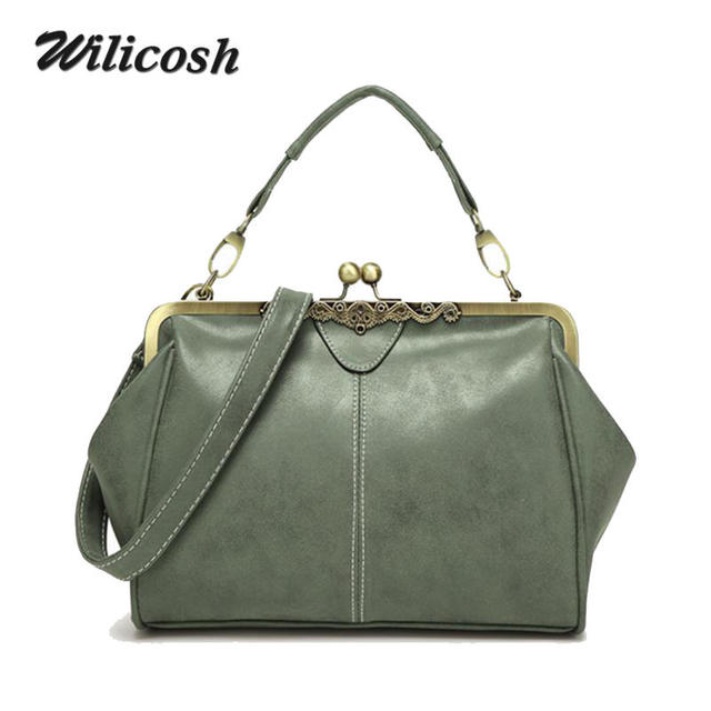 f0441c6cae26 Wilicosh 2016 New England Style Women Bag Retro Women Messenger Bags  Shoulder Bag PU leather Tote