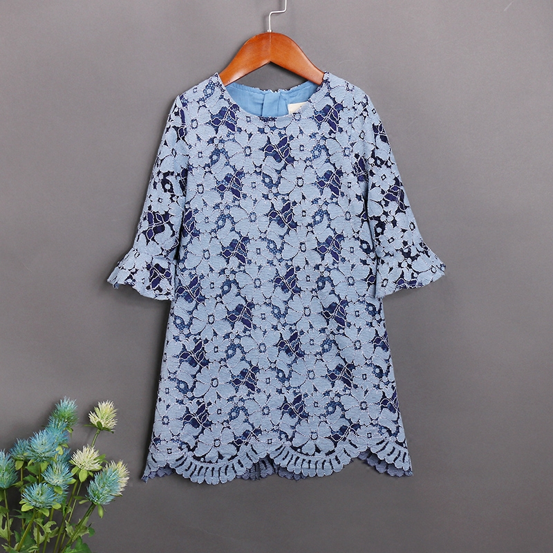 Autumn children one-piece party dress mother daughter fashion lace dresses mom and baby infant girls clothes family look outfit checcivan family mom daughter short t shirt 2017 autumn mother
