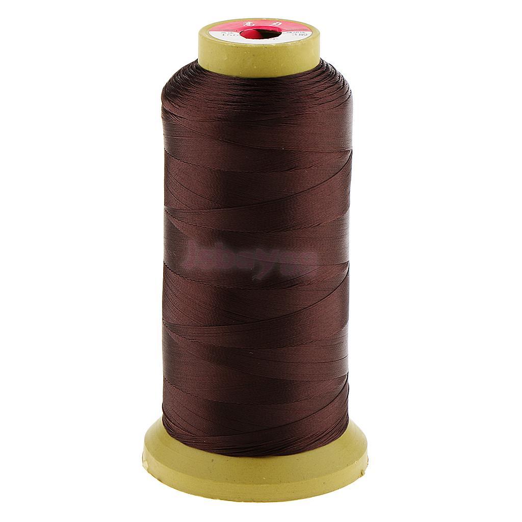 3 Pieces Hair Sewing/Braid/Weaving Bangs Extension Wig Decor Thread 0.2mm circle