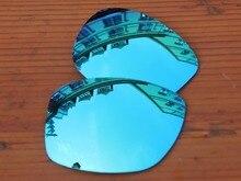 Ice Blue Mirror Polarized Replacement Lenses For Jupiter Squared Sunglasses Frame 100 UVA UVB Protection