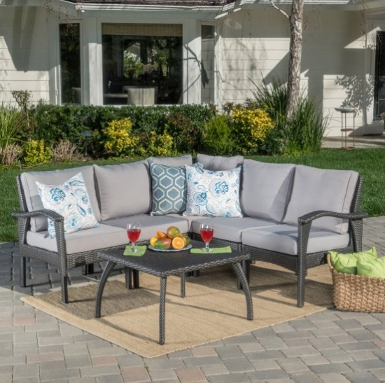 Hot sale quality outdoor furniture garden leisure sofa ...