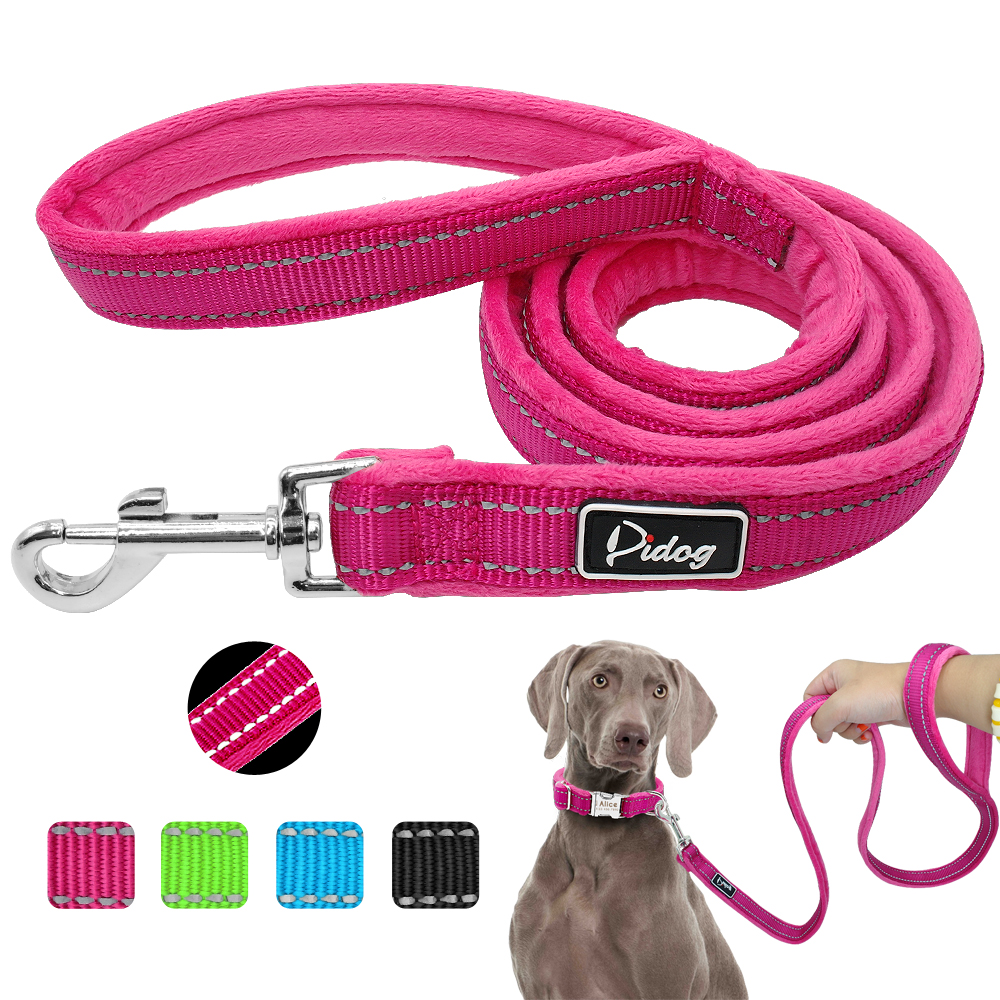 Soft Nylon Reflective Dog Leash