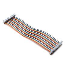 GPIO 40P Rainbow Ribbon Cable For Raspberry Pi 2 Model B & B+