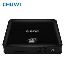 CHUWI официальный! CHUWI hibox герой Мини-ПК ТВ Box Intel X5 Z8350 4 ГБ Оперативная память 64 ГБ Встроенная память Android 5.1 и Window10 с Дистанционное управление