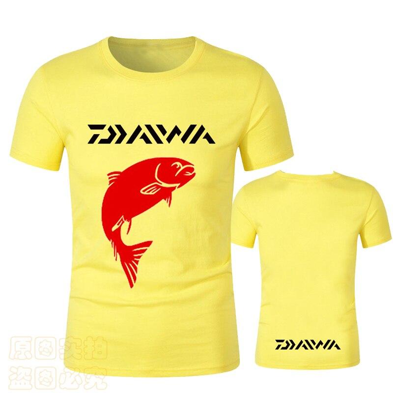 Мужская рыболовная футболка, мужская спортивная дышащая рубашка для рыбалки, походная быстросохнущая летняя одежда для дайв Рыбалка