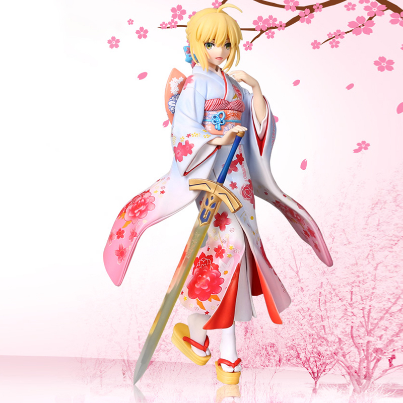 Saber Kimono Version (Fate/Stay Night Unlimited Blade Works) PVC-Statue 1/7 25cm