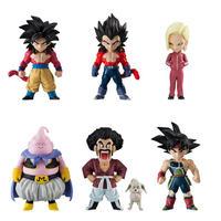 Dragon Ball Adverge Part 7 Action Figure Toys Goku,Vegita,Android 18,Mr Boo,Mr Satan and Bee,Bardock Full set 100% Original