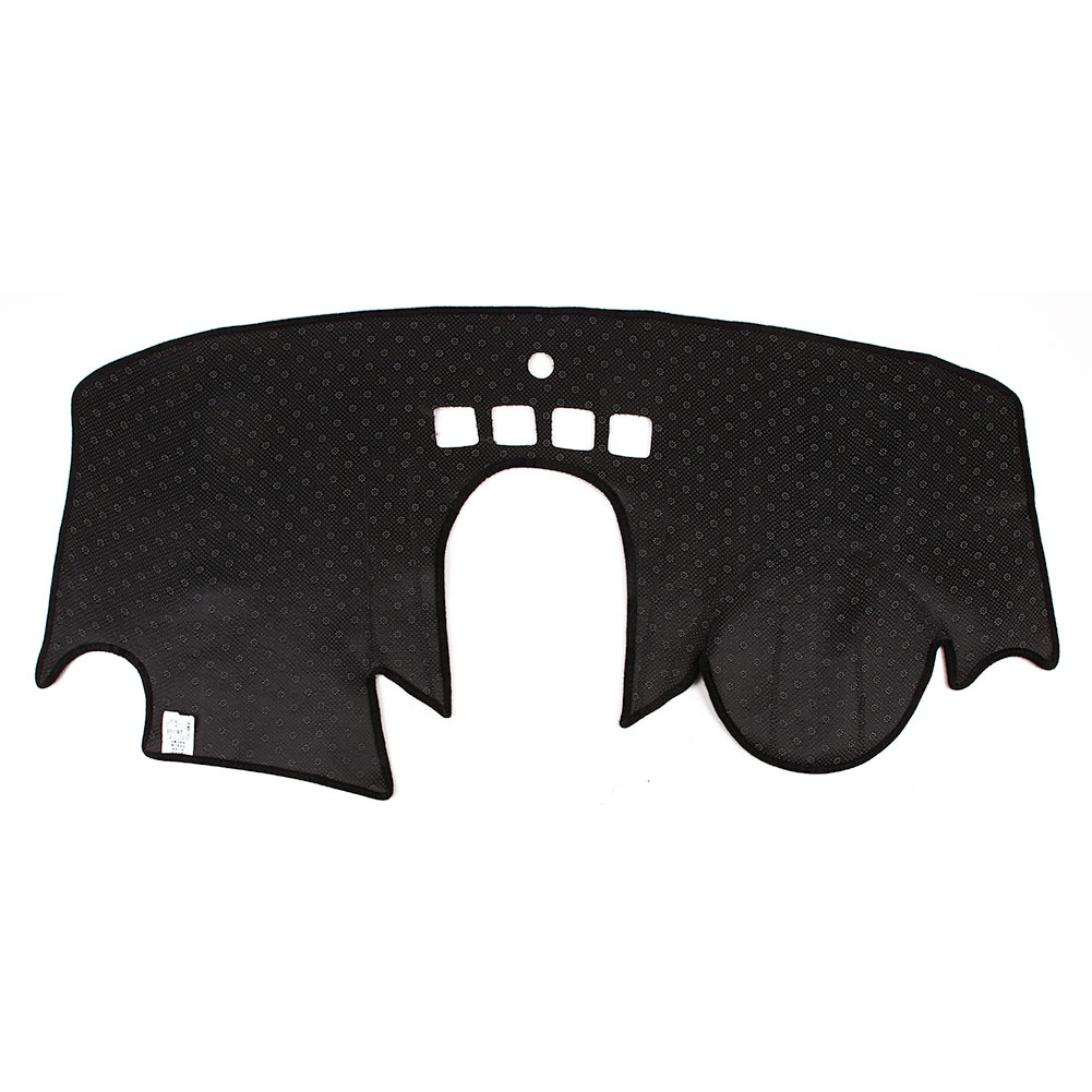 Vehemo силиконовый нескользящий чехол для приборной панели Защита от солнца Обложка Pad левое сиденье водителя тире коврики Pad для моторов запчасти приборной панели мат Черный