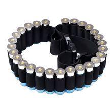 Открытый военный патрон ружья ремень страйкбол Охота Тактический 25 оболочки ремень для патронташа 12 Калибр патроны держатель