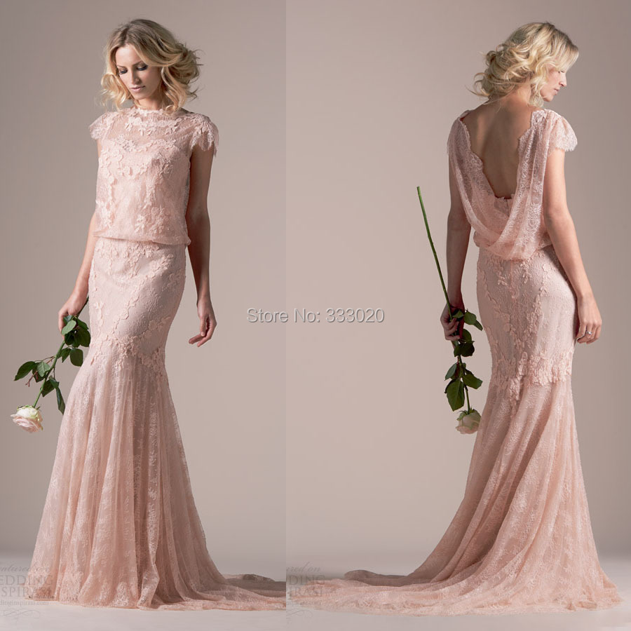 rime arodaky cowl neck wedding dress Rime Arodaky Fall Wedding Dresses