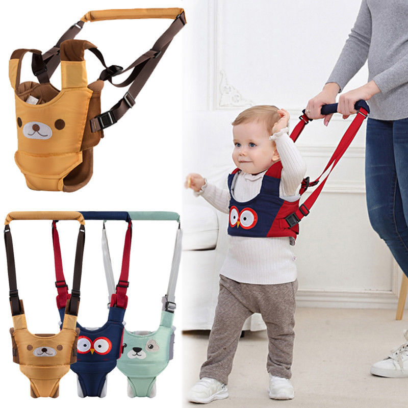 Hot Baby Unisex Walker Assistant Harness Safety Toddler Belt Walking Wing Infant Kid Safe Leashes 6-24M