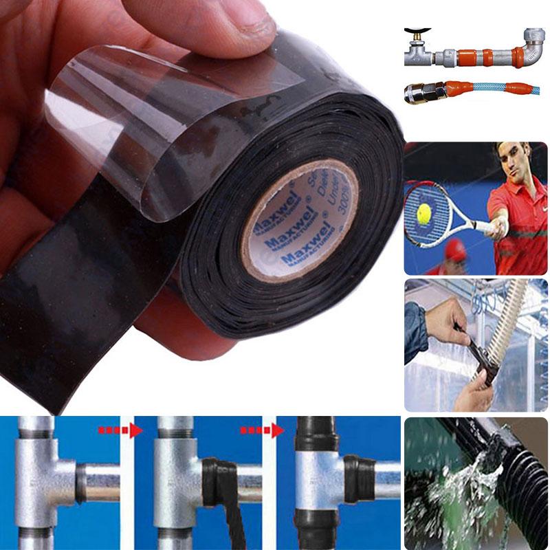 Pipe Sealing Tape Rubber Repairing Tool Waterproof Self-Adhesive Insulation