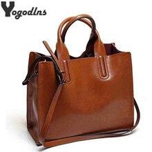 Grands sacs à main en cuir pour femmes, sac de bonne qualité, sacs tronc fourre-tout de marque espagnole, sac à bandoulière pour dames