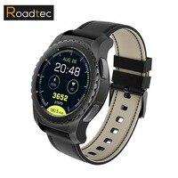 Roadtec Smart Watch мужчин/женщин часы android часы SmartWatch sim местных MP3 сердечного ритма Мониторы Smart Watch OLED для iPhone IOS
