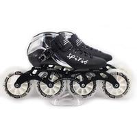 Spirit Inlines Roller Speed Skates 4 Wheels Roller Skates for Kids Adult Carbon Fiber High elasticity Wheel Patins SH54