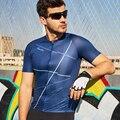 Santic Uomini Ciclismo Jersey Pro Breve-maniche lunghe Bici Da Strada Vestiti di l'assorbimento di versione Competitivo M9C02140 S-XXL