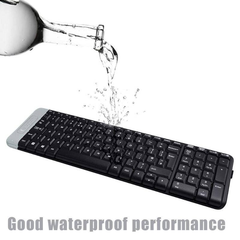 Logitech K230 Mute Wireless Keyboard 2.4GHz Bluetooth USB Receiver Home Office Gaming for Desktop Laptop PC
