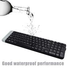 Logitech K230 Mute Wireless Keyboard 2.4GHz Bluetooth USB Receiver Home Office Gaming for Desktop Laptop PC