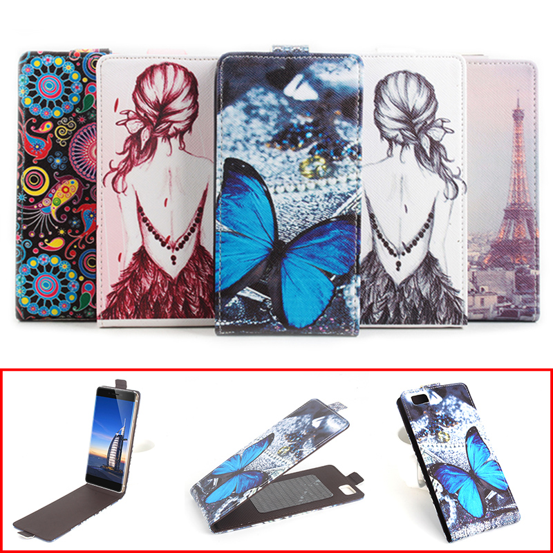 Fashion Colorful Pattern PU Leather Flip Cover Case for Ulefone Future Vertical Back Cover Magnetic Protective Shell