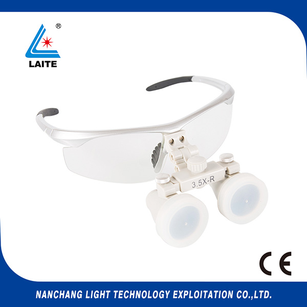 Loupes dentaires 3.5X Loupes chirurgicales binoculaires laboratoire loupe médicale loupe médicale shipping-1set gratuite