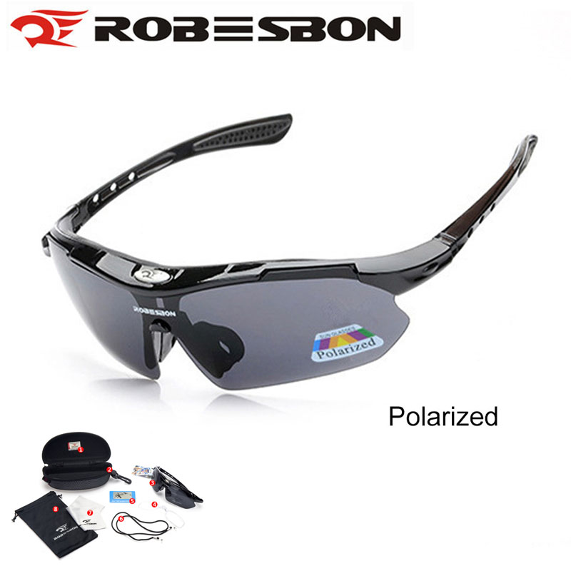 ROBESBON Professional Polarized Cycling Glasses Sport UV400 Sunglasses Eyewear Running Bicycle Goggles Las gafas feidu 2015 brand designer high quality metal sunglasses women men mirror coating лен sun glasses unisex gafas de sol
