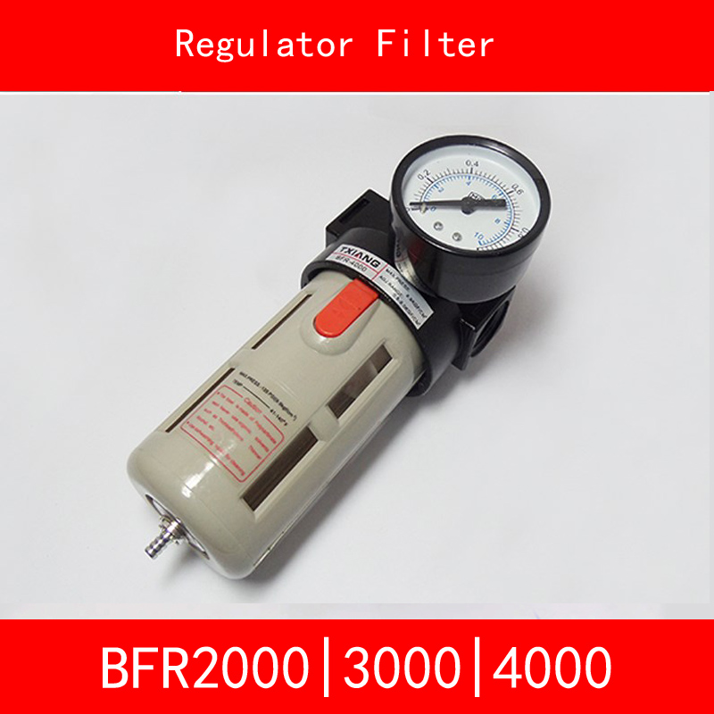 BFR2000 BFR3000 BFR4000 Regulator Filter Port Size 1/4 3/8 1/2 Pneumatic Source Treatment Unit Air Filter Pressure Regulator air unit pneumatic source treatment g1 4 afc2000