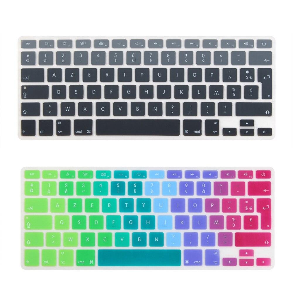 Vermetel Franse Frankrijk Euro Voer Keyboard Cover Voor Macbook Air 13 Inch A1466 A1369