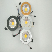 50X Super Bright Dimmable Led downlight light COB Ceiling Spot Light 3w 5w 7w 9w 12w LED ceiling recessed Indoor Lighting