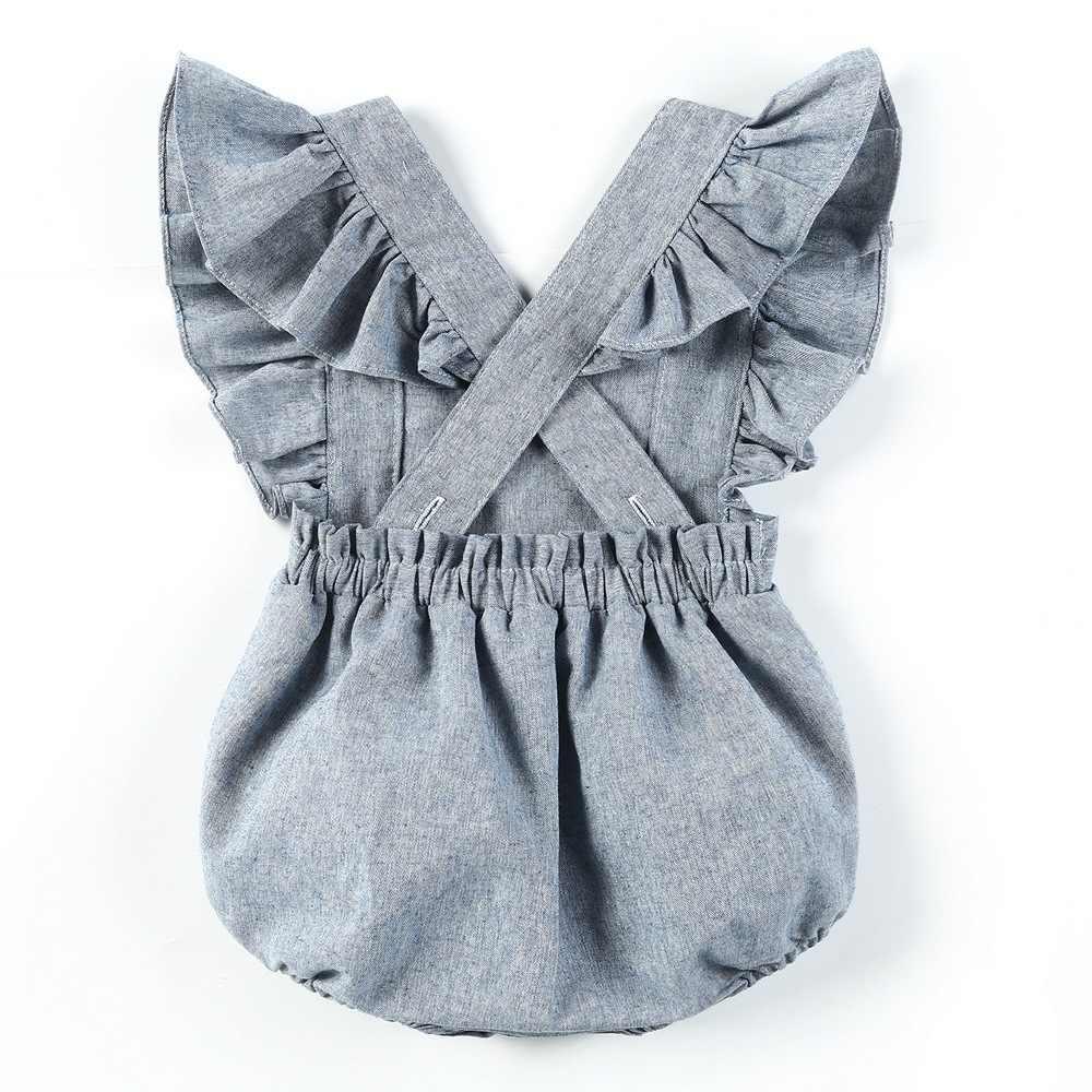 Mamelucos de bebé niño 2019 verano niño niña mameluco bebé recién nacido volantes mono ropa de bebé niño Infante niños Oneise general