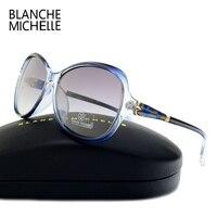 Blanche Michelle High Quality Butterfly Polarized Sunglasses Women Brand Designer 2017 UV400 Sunglass Gradient Lens Sun