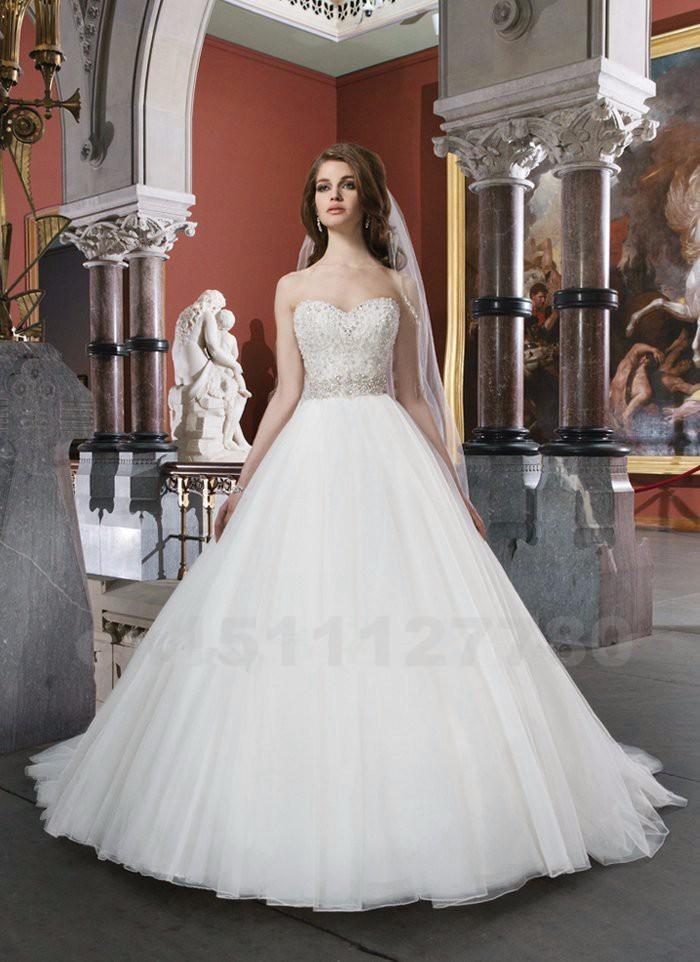 Vintage-Wedding-Dress-2015-Pearls-A-Line-Bridal-Dress-Romantic-Sweetheart-White-Long-Plus-Size-Wedding