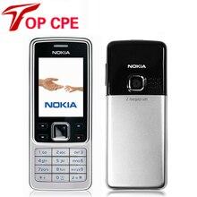 Восстановленное в Исходном Разблокирована Nokia 6300 5MP GSM Поддержка России и Арабский Клавиатура Мобильный Телефон Tri-Band Multi-language