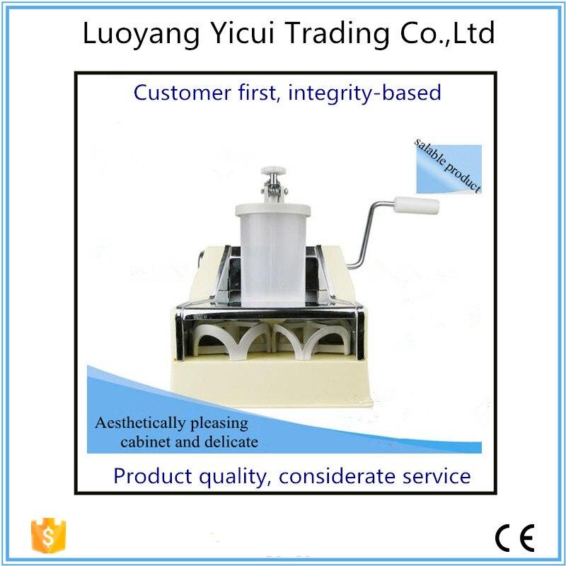 Popular mini home hand dumpling machine dumpling maker manual hand oeprate home use