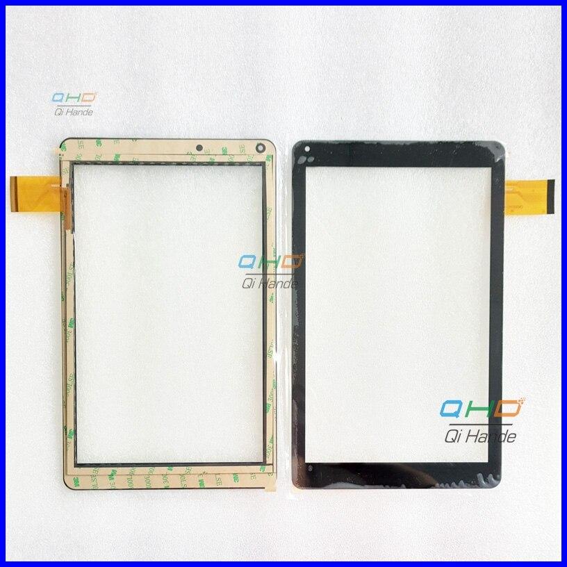 10,1 pulgadas de pantalla táctil 100% nuevo para Prestigio Multipad zabio 3131 3G PMT3131_3G_D panel táctil Tablet PC panel táctil digitalizador