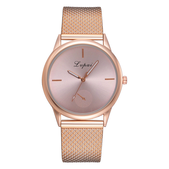Genvivia Dropship 2019 Famous Brand Gold Silver Casual Quartz Watch Women's Casu