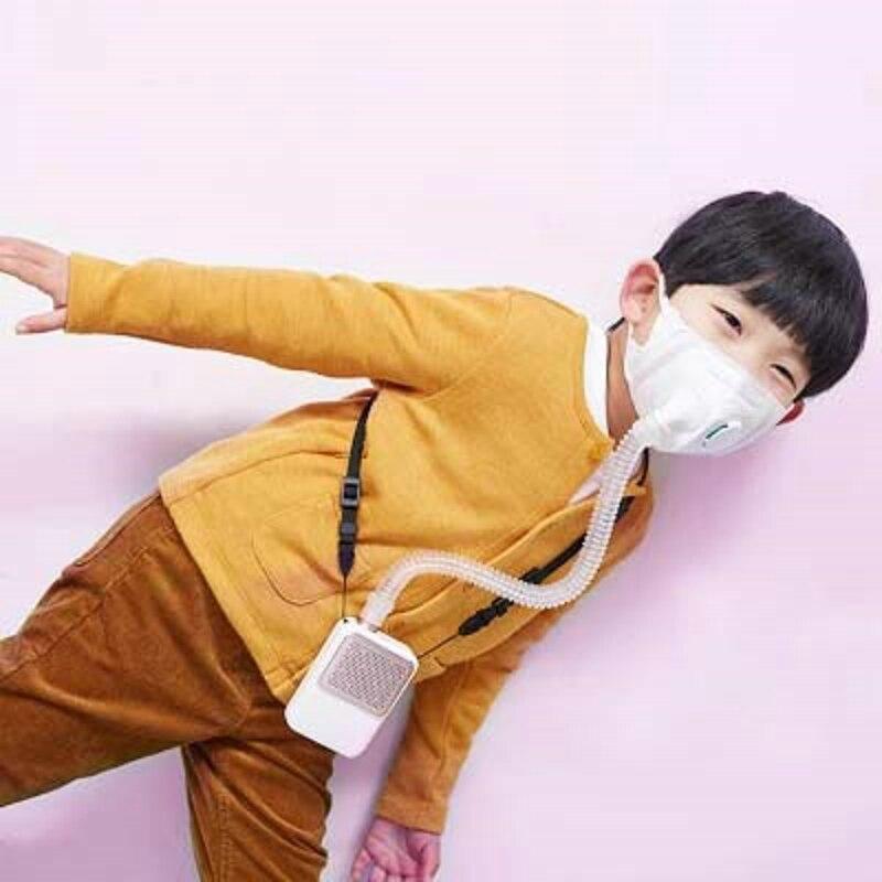 Ребенок электрический маски электронная маска Батарея работает Filte Портативный Воздухоочистители интеллектуальных детей молестойкnss пыли